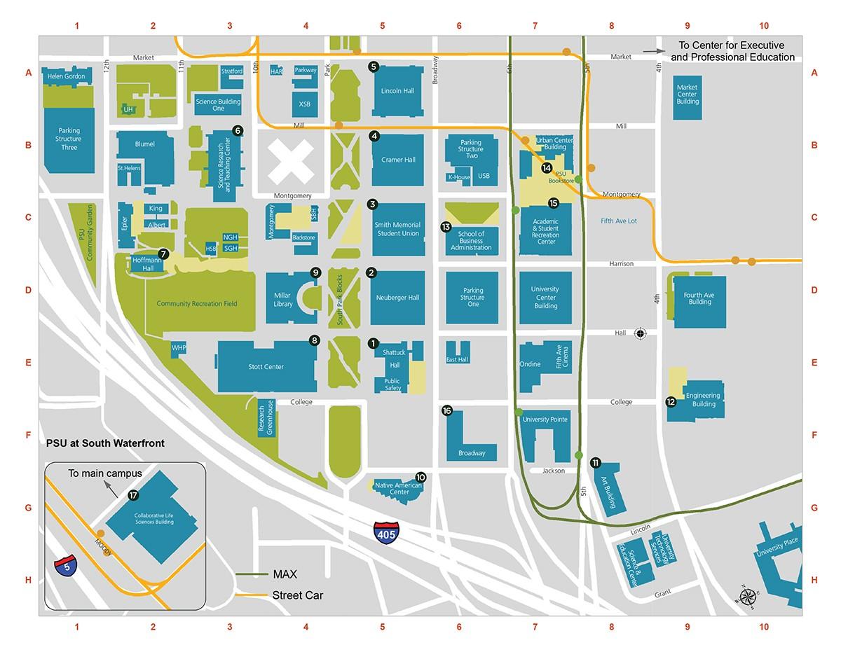 Portland Underground Map