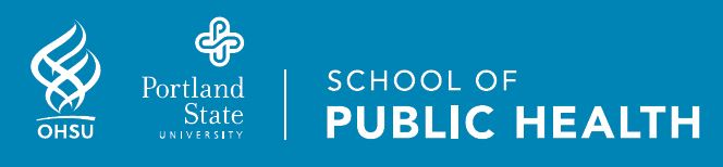 OHSU-PSU School of Public Health logos